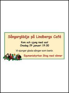 Lindbergs Café Holmsveden